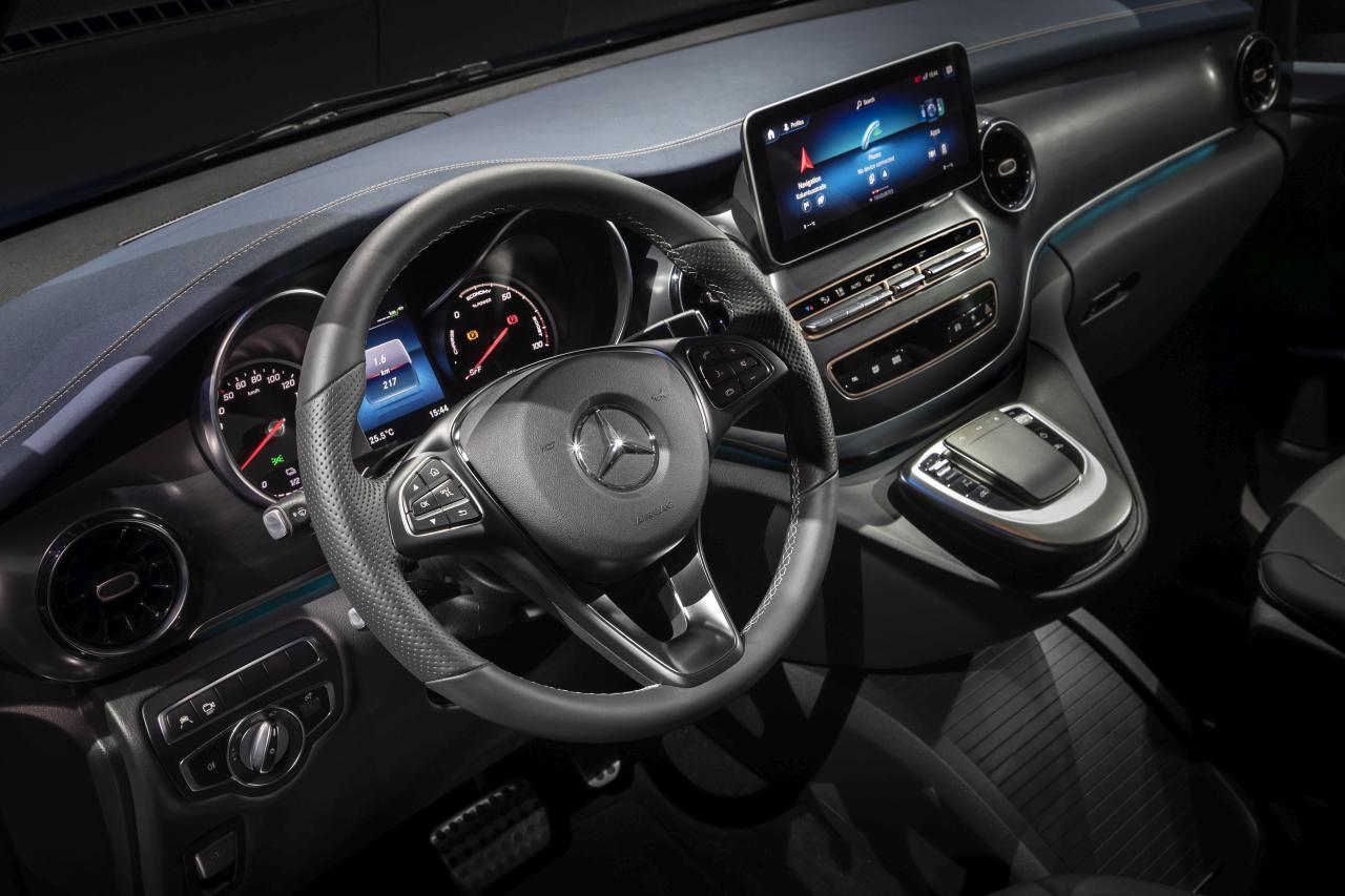 Automatic level control. All the strengths of the V-Class.